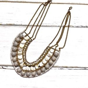 Textured Statement Necklace